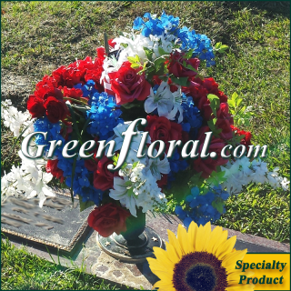 Silk Cemetery Arrangement-FFCEM-1000-10