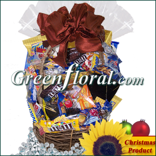 The Chocolate & Snack Food Christmas Basket