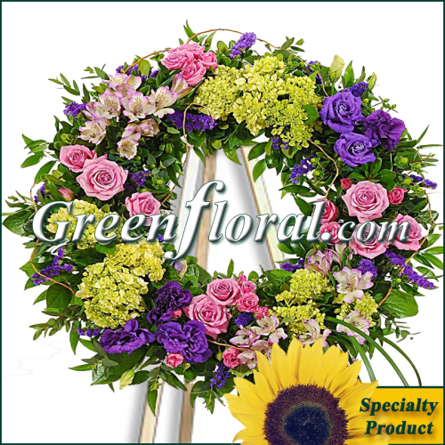 The Windsor Wreath Design