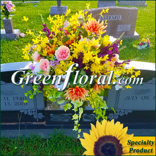 Silk Cemetery Arrangement-FFCEM-1000-60