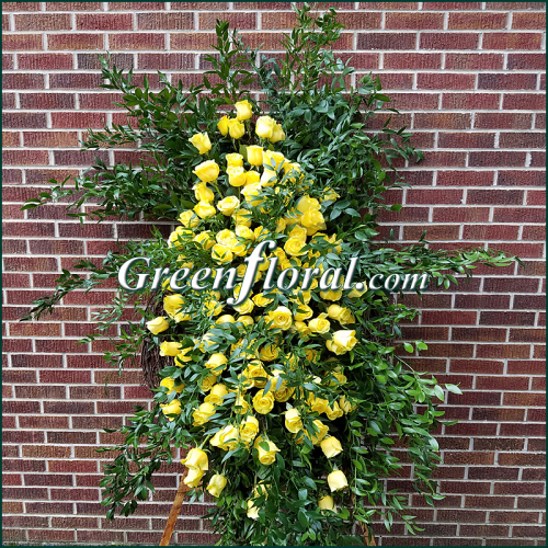 The Timmons Yellow Rose Grapevine Tribute Design