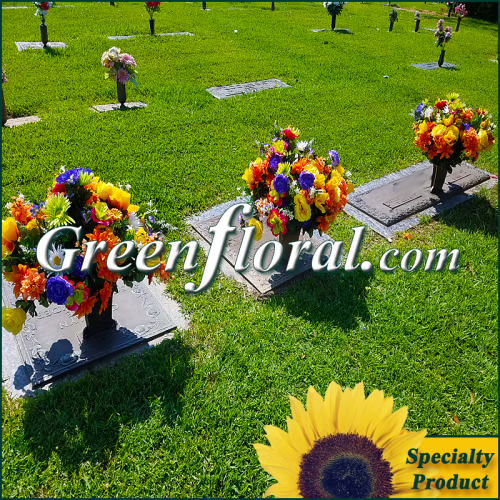 Silk Cemetery Arrangement-FFCEM-1000-59