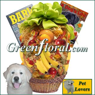 The Dog Lover\'s Fruit Basket