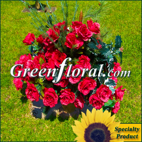 Silk Cemetery Arrangement-FFCEM-1000-02