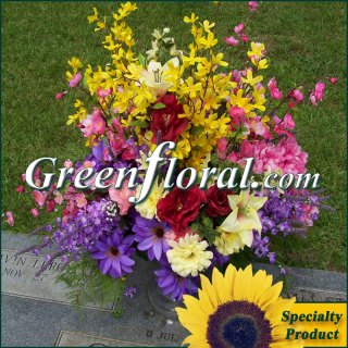 Silk Cemetery Arrangement-FFCEM-1000-04