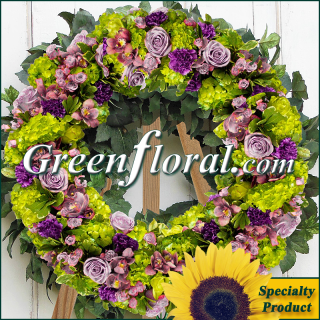 The Garden of Milan Wreath