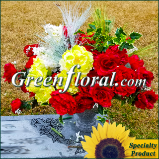 Silk Cemetery Arrangement-FFCEM-1000-49