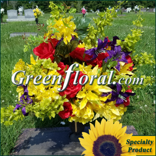 Silk Cemetery Arrangement-FFCEM-1000-29