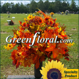 Silk Cemetery Arrangement-FFCEM-1000-16