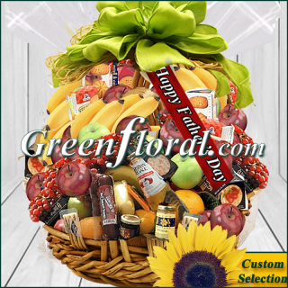 The Father\'s Day Traditional Gourmet Basket