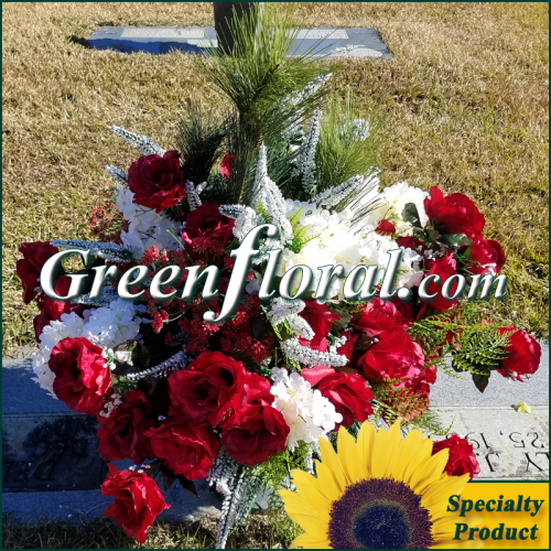 Silk Cemetery Arrangement-FFCEM-1000-38