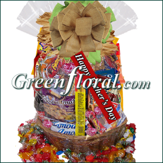Father\'s Day Junk Food Basket