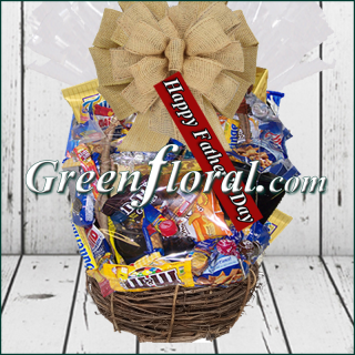 Father\'s Day Chocolate & Snack Food Basket