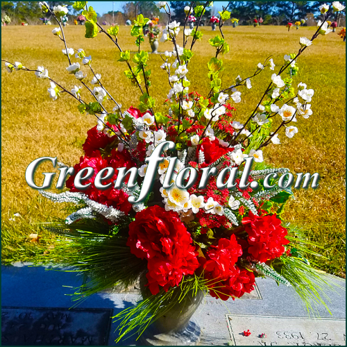 Silk Cemetery Arrangement-FFCEM-1000-37