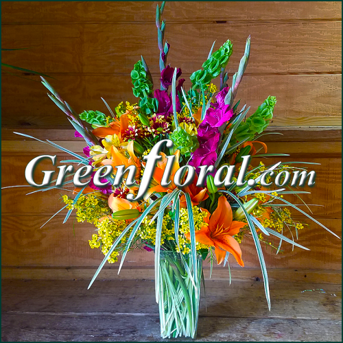 The Archdale Autumn Vase Design