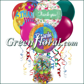 The Thank You Balloon Bunch