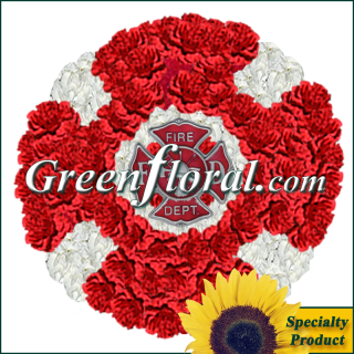 The Maltese Cross Floral Emblem