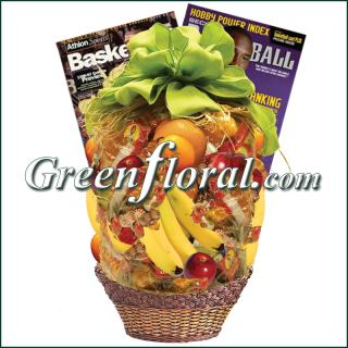 Basketball Fruit Basket