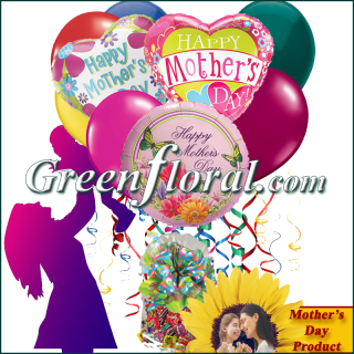 The Mother\'s Day Balloon Bunch