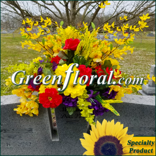 Silk Cemetery Arrangement-FFCEM-1000-53