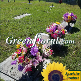 Silk Cemetery Arrangement-FFCEM-1000-34