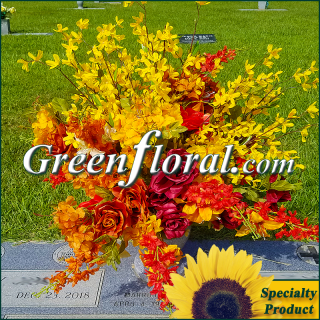Silk Cemetery Arrangement-FFCEM-1000-62