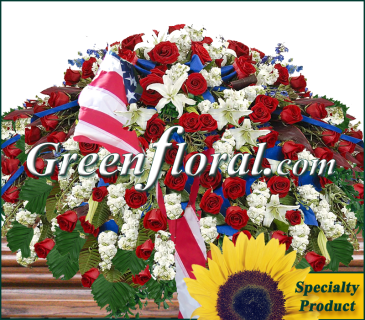 The C. J. Palmer Family Patriotic  Rose Tribute-