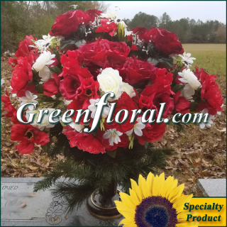 Silk Cemetery Arrangement-FFCEM-1000-25
