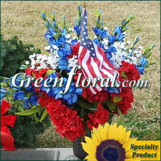 Silk Cemetery Arrangement-FFCEM-1000-05