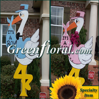 Wooden Stork Rental: 4\' and 6\' Options (Local Area Only)