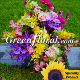 Silk Cemetery Arrangement-FFCEM-1000-46