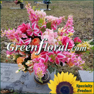 Silk Cemetery Arrangement-FFCEM-1000-44