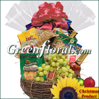 The Natchez Christmas Gourmet Basket