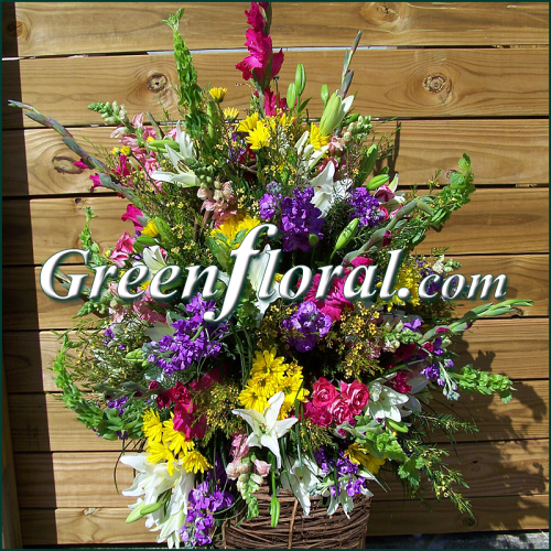 The Creekside Grapevine Basket Design