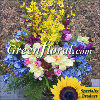 Silk Cemetery Arrangement-FFCEM-1000-09