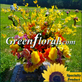 Silk Cemetery Arrangement-FFCEM-1000-64