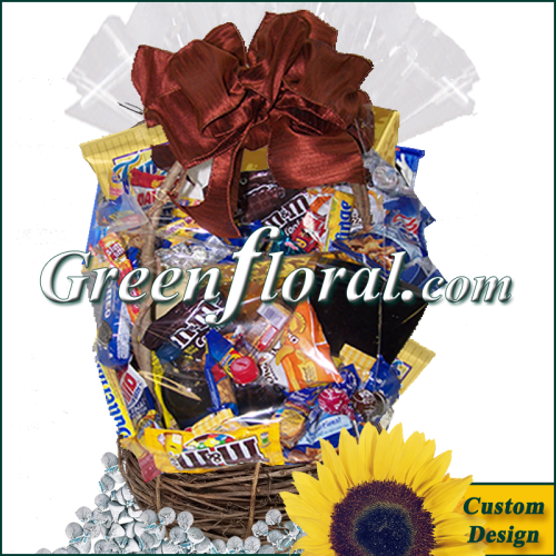 The Chocolate and Snack Food Basket