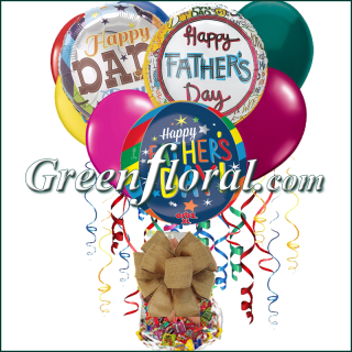 The Father\'s Day Balloon Bunch