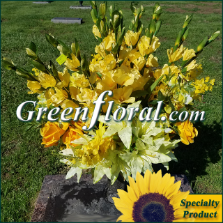 Silk Cemetery Arrangement-FFCEM-1000-45