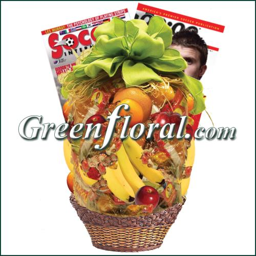 Soccer Fruit Basket