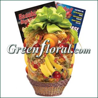 Baseball Fruit Basket