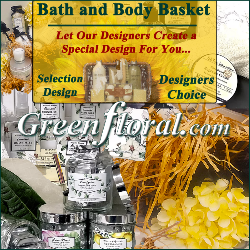 Our Designer\'s Bath and Body Basket