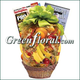 Football Fruit Basket
