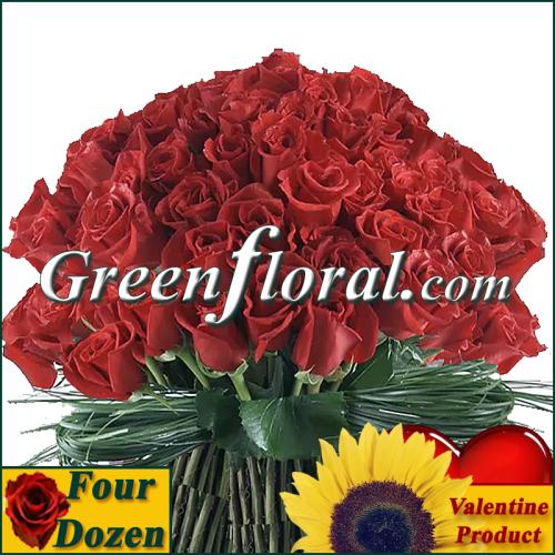 The Valentine Four Dozen Bowl Design Available In 4 Colors