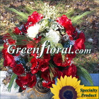 Silk Cemetery Arrangement-FFCEM-1000-08