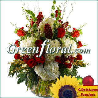 The Breazelle Christmas Garden Bowl Design