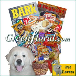 The Dog Lover\'s Junk Food Basket