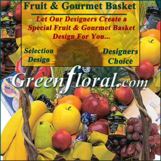 Our Designer\'s Fruit and Gourmet Basket