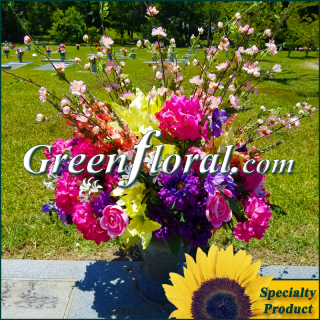 Silk Cemetery Arrangement-FFCEM-1000-54