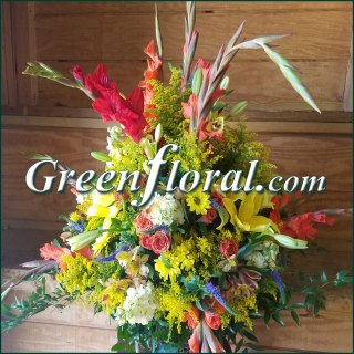 The Garner Grapevine Basket Design